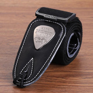 BassGears CST-1303Black  Soldier Strap Leather