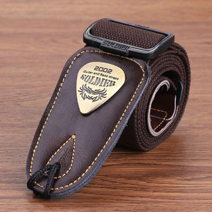BassGears CST-1303Brown  Soldier Strap Leather