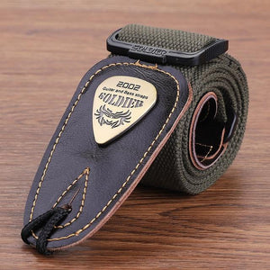 BassGears CST-1303Green  Soldier Strap Leather