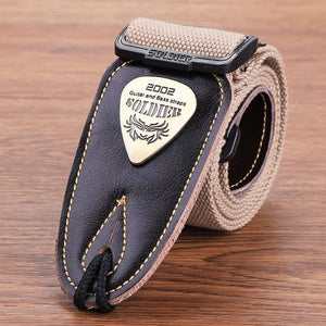 BassGears CST-1303Khaki  Soldier Strap Leather