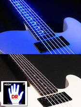 DR NEON Blue bass guitar strings