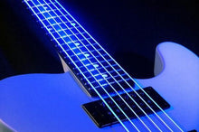 Load image into Gallery viewer, BassGears DR NEON Blue bass guitar strings