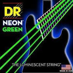 DR NEON Green bass guitar strings - BassGears