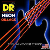 DR NEON Orange bass guitar strings - BassGears