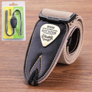 BassGears Khaki 02  Soldier Strap Leather