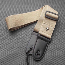 Load image into Gallery viewer, BassGears Khaki SLOZZ Acoustic & Electric Bass Guitar Strap