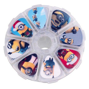 BassGears Minions 50pcs Thematic Bass Guitar Picks with Box