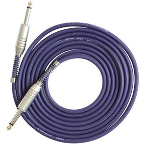 BassGears Purple 6.5mm Jack Audio Cable Professional Noise Free 3 Meters/10ft