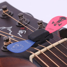 Rubber Bass Guitar Pick Holder