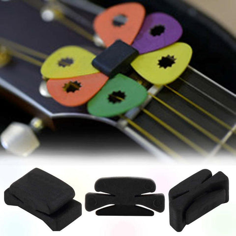 Rubber Bass Guitar Pick Holder - BassGears
