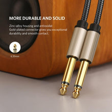 Load image into Gallery viewer, BassGears Ugreen 6.5mm Jack Audio Cable Nylon