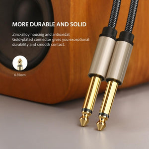 BassGears Ugreen 6.5mm Jack Audio Cable Nylon