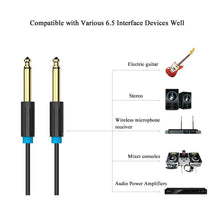 Vention AUX Cable 6.5mm to 6.5mm - 0,5m to 10m