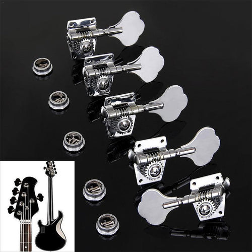 BassGears Vintage Steel Bass String Tuners