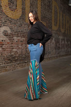Load image into Gallery viewer, Jace's Serape Flare Denim