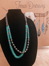 Load image into Gallery viewer, Indy's Navajo / Turquoise Bead Necklace