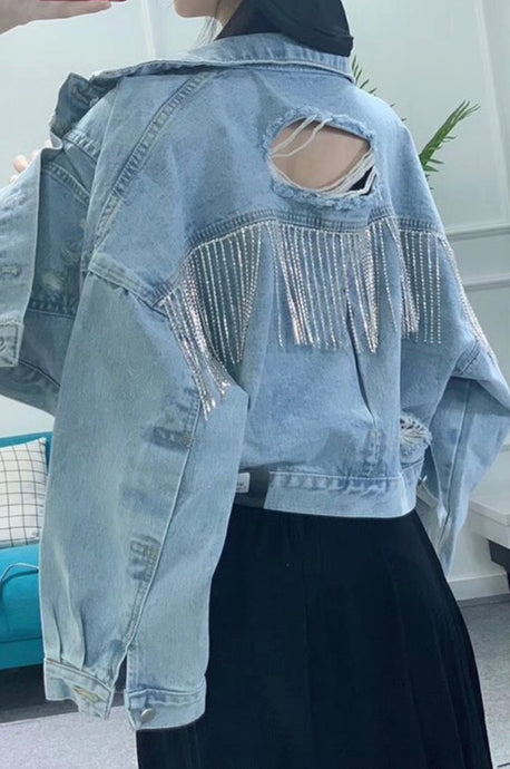 Lady May Fringe Jacket