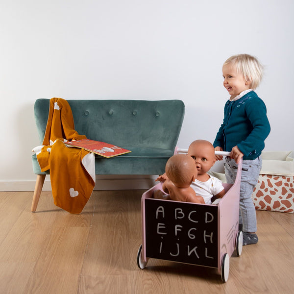 Wooden Stroller Walker by Childhome