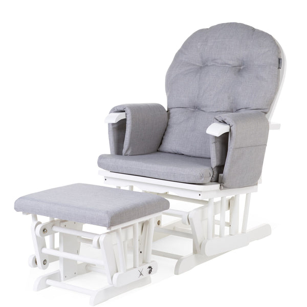 Childhome - Gliding Nursery Chair With Footrest