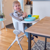 Beaba - Highchair Up&Down OFFER: + FREE TEXTILE SET.