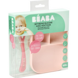 Beaba - Silicone Suction Divided Plate