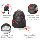 Skip Hop - Linx Quilted Diaper Backpack