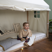 Childhome - Fitted Sheet for Tipi or House Bed