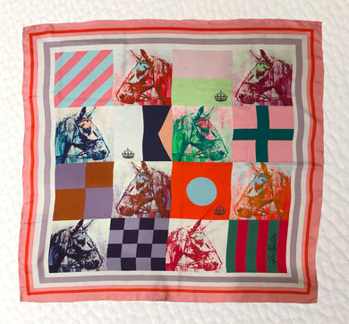 Nautical Flag Yearling Scarf