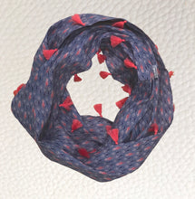 Load image into Gallery viewer, On the Lead Infinity tassel scarf