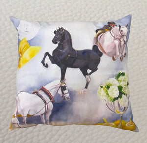 Show Pillow by Janet Crawford