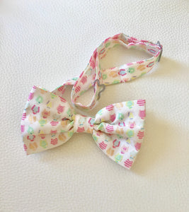 Water Color Jockey Silk Bow Tie