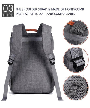 New Style Canvas School Backpack for Teenagers Boys & Girls