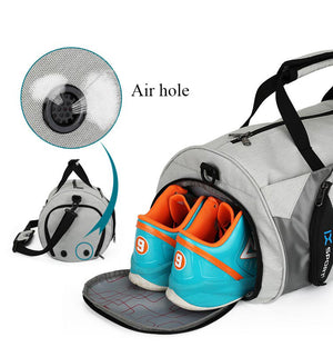 DC INOXTO Sport Bag  with Separate Space For Shoes