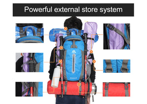 Hiking Camping  Backpack Bag Waterproof 40L 50L