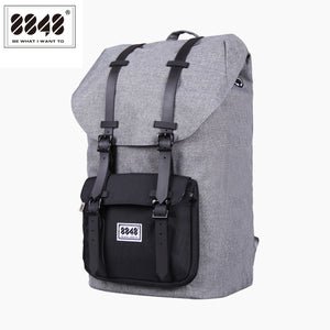 Large Capacity Gray Travel Bag Real Waterproof Oxford Gray