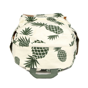 Teen's Pineapple Canvas Backpack