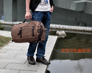 Men's Travel bag Luggage Bag Travel Backpack  Duffle bag overnight weekend bag S