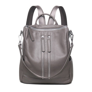 Genuine Leather Women's Ladies Backpack Shoulder Bag. Color Choices!