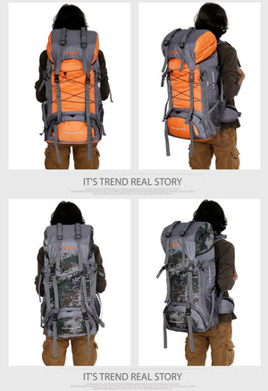 Outdoor Travel Sport Hiking Mountain Backpack Bag Waterproof. Multiple Colors
