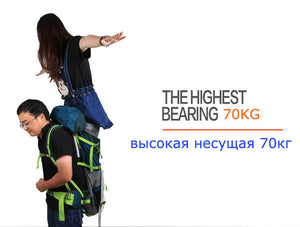 70L Hiking Outdoor Travel Backpack Camping Trekking Rucksack Men Women