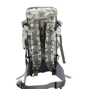 Men Women Military Tactical Hiking Bag Trekking Unisex Travel Camping Outd