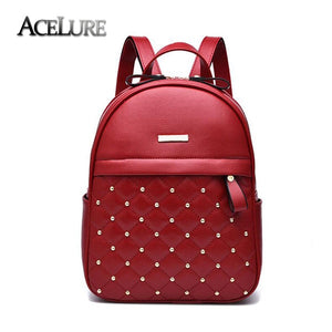 ACELURE Women's Casual bag High Quality diamond rivet  female shoulder bag