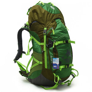 Men's and Women's Camping Outdoor Backpack Bag Walking  55L Mountaineering Bag