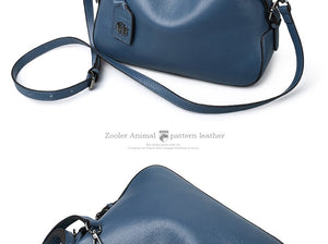 Genuine leather handbag women's famous brand luxury shoulder bag bolsa