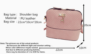 Women's small shoulder bag quality soft face. Multiple Color Choices