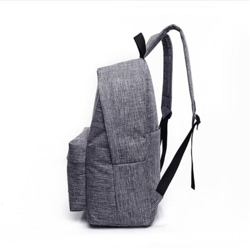 7980bb0aded0 DIDA BEAR Canvas Men s Women s Backpack Large School Bag For Teenager Boys  Girls