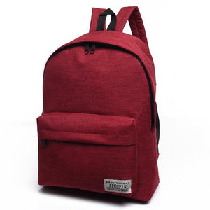 DIDA BEAR Teen's Canvas Backpack