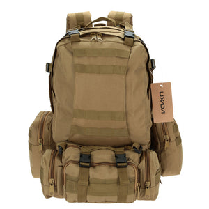 50L Outdoor Military Tactical Backpack Rucksack Camouflage