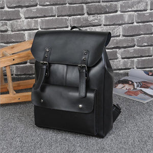 Men's Backpacks Male School Bag Black Backpack for Teenage Teen Boys Schoolbag