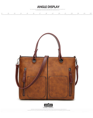 Women's Shoulder Bag Female Causal Tote for Daily Shopping All-Purpose